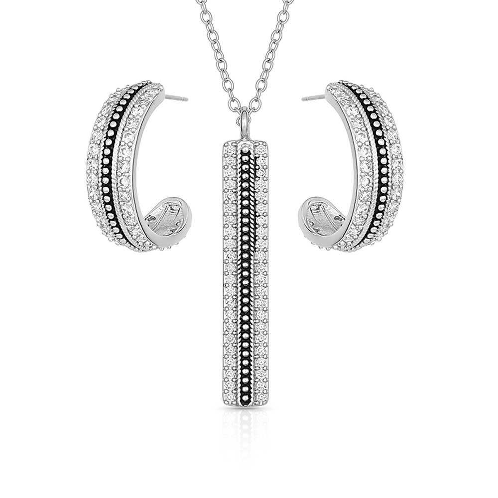 Classic Haloed Beauty Jewelry Set