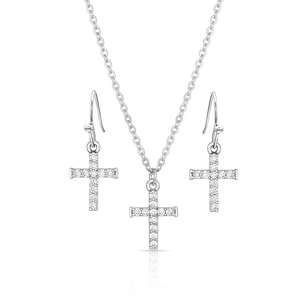 Unwavering Cross Jewelry Set