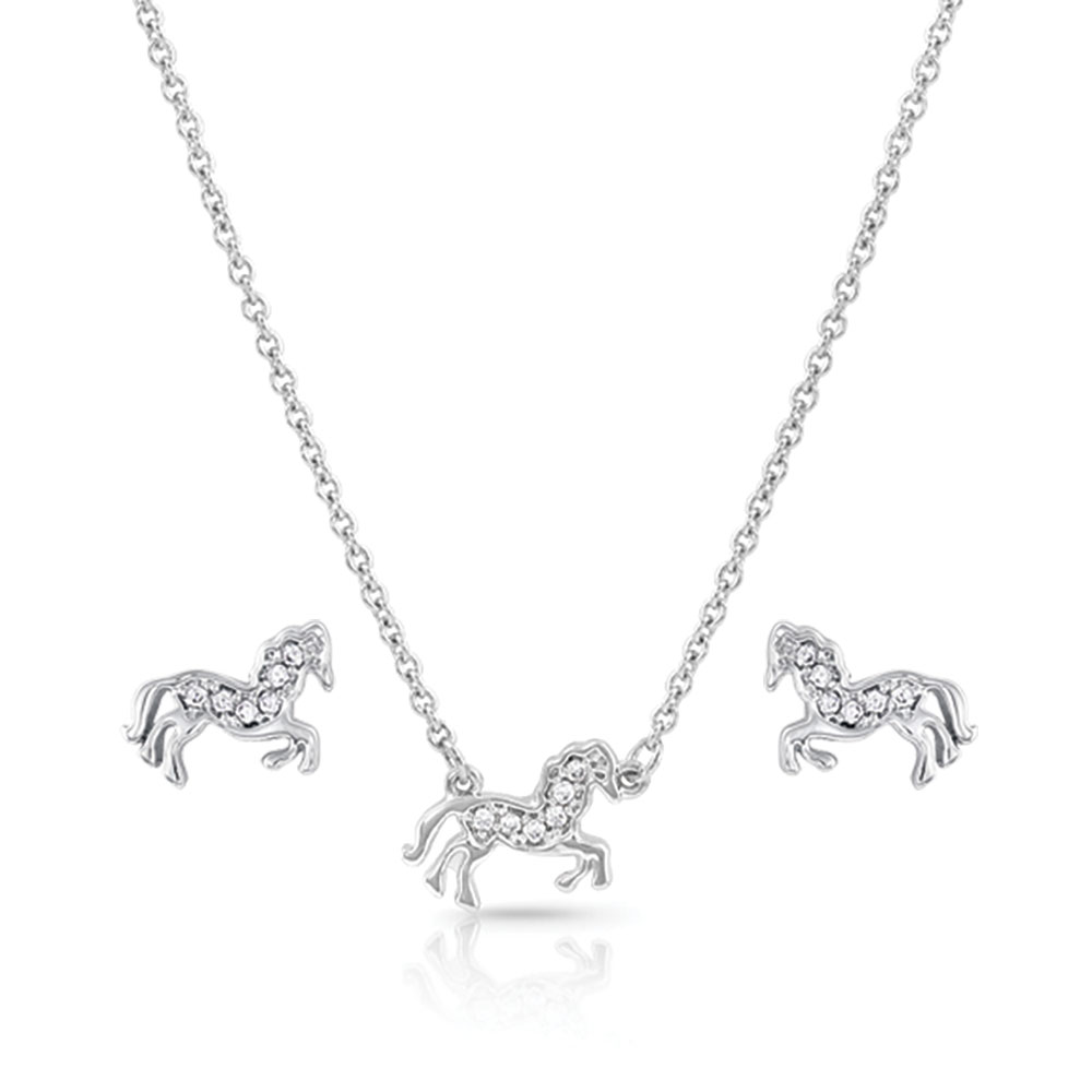 All The Pretty Horses Jewelry Set