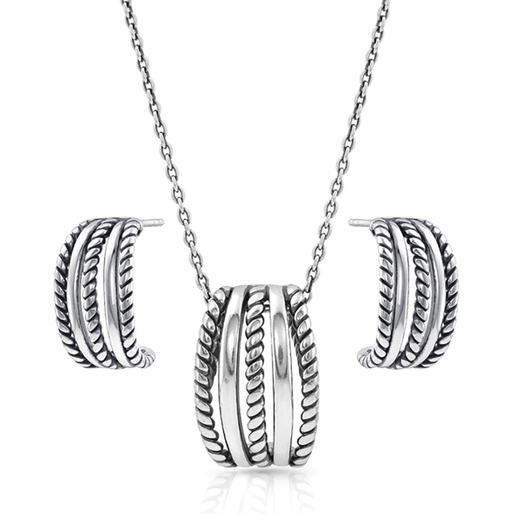 Roped Trio Jewelry Set