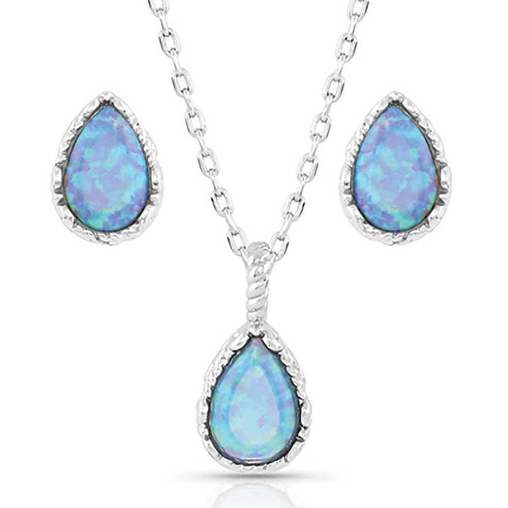 Captivating Teardrop Jewelry Set