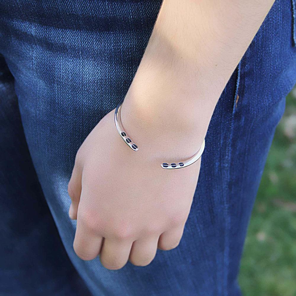 Kristy Titus Turning Paths Print Bracelet