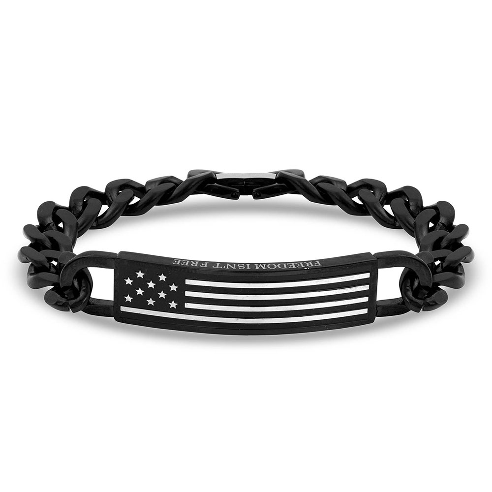 Kristy Titus Let Freedom Ring ID Bracelet