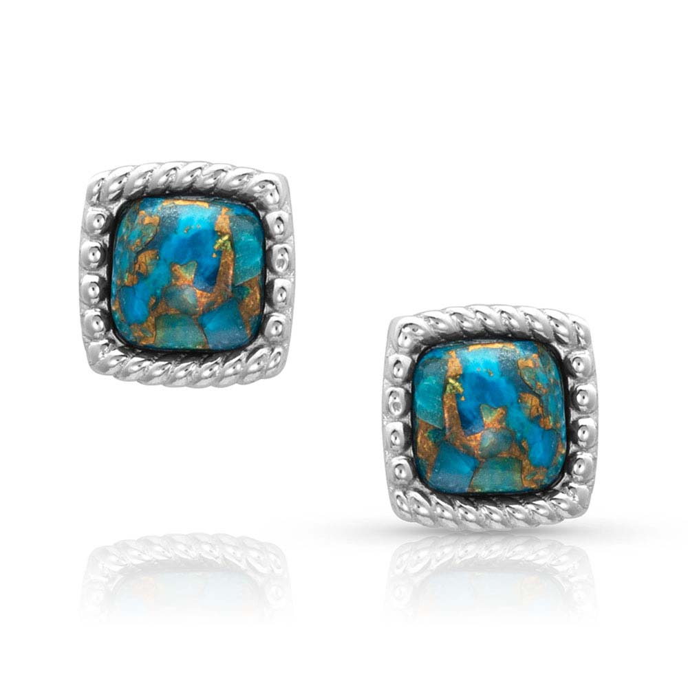 Mountain Lakes Turquoise Earrings