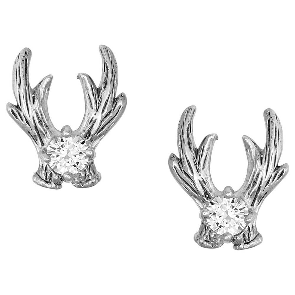 Kristy Titus Mountain Sugar Antler Stud Earrings
