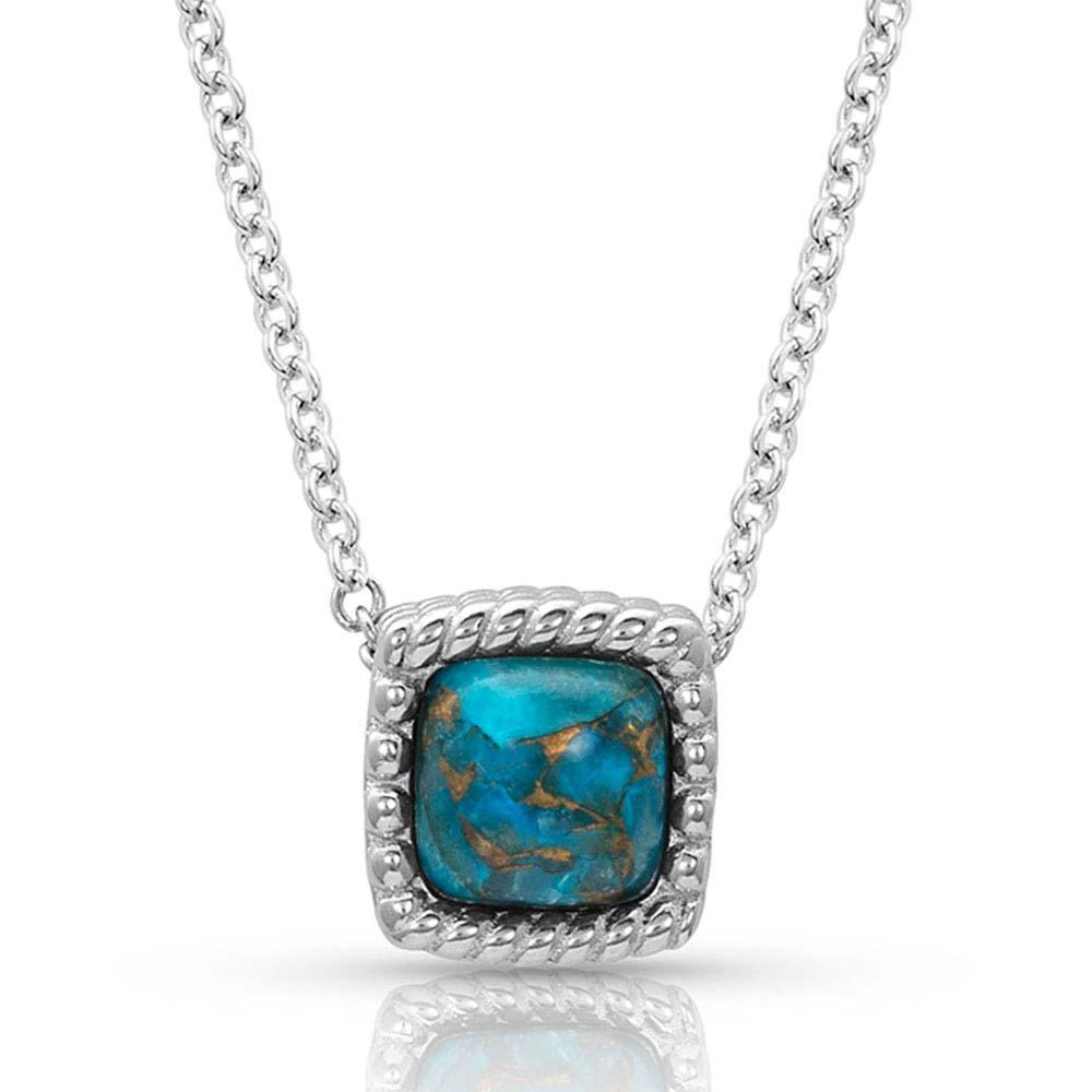 Mountain Lakes Turquoise Necklace