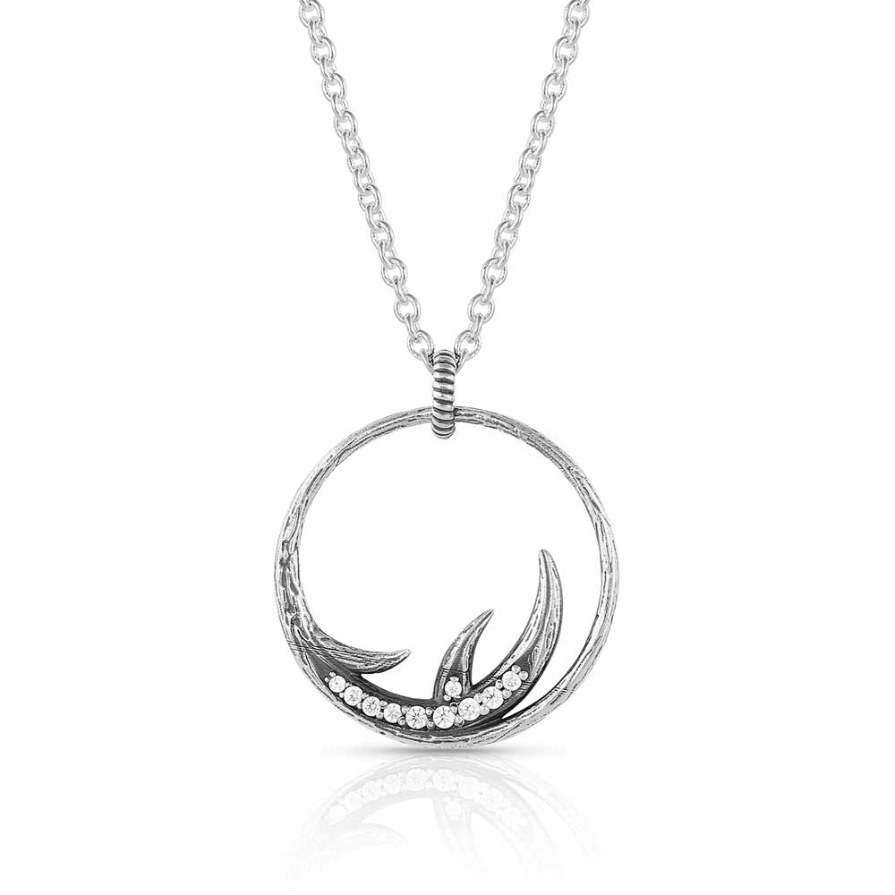 Kristy Titus At Last Antler Necklace