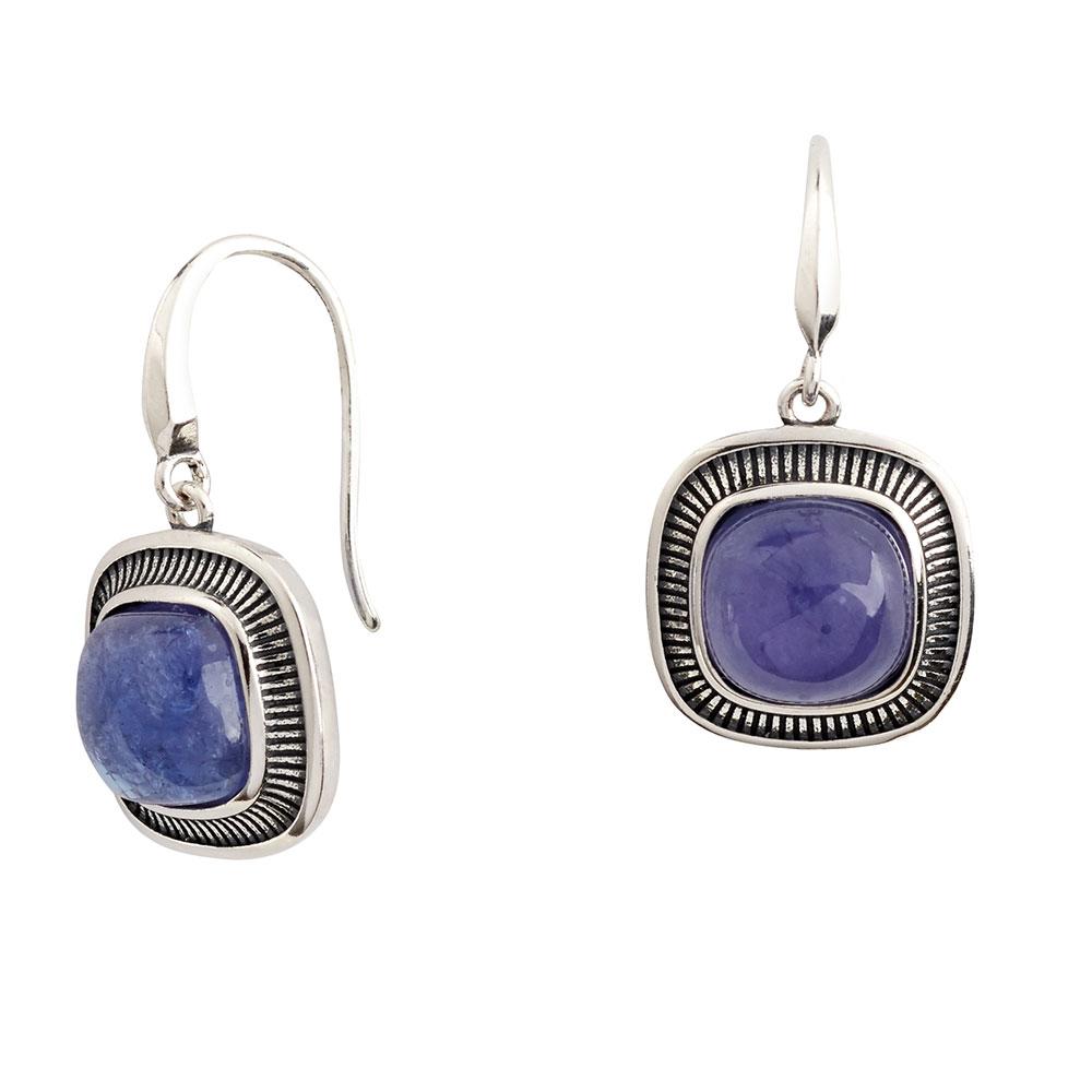 Elements Tanzanite Drop Earrings