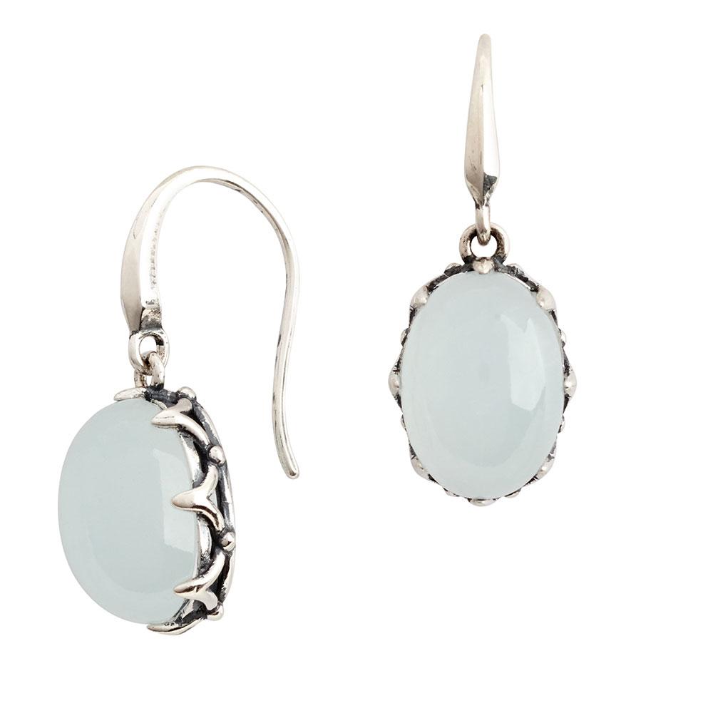 Majestic Aquamarine Drop Earrings