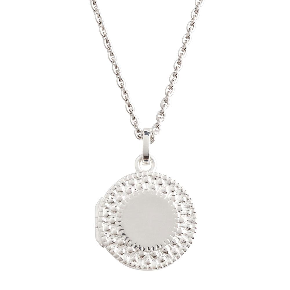 Benevolence Sterling Silver Locket Necklace
