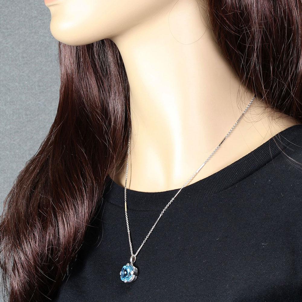 Aurora Lights Citrine Pendant Necklace