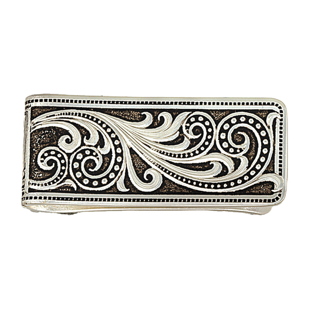 Western Lace Whisper Money Clip