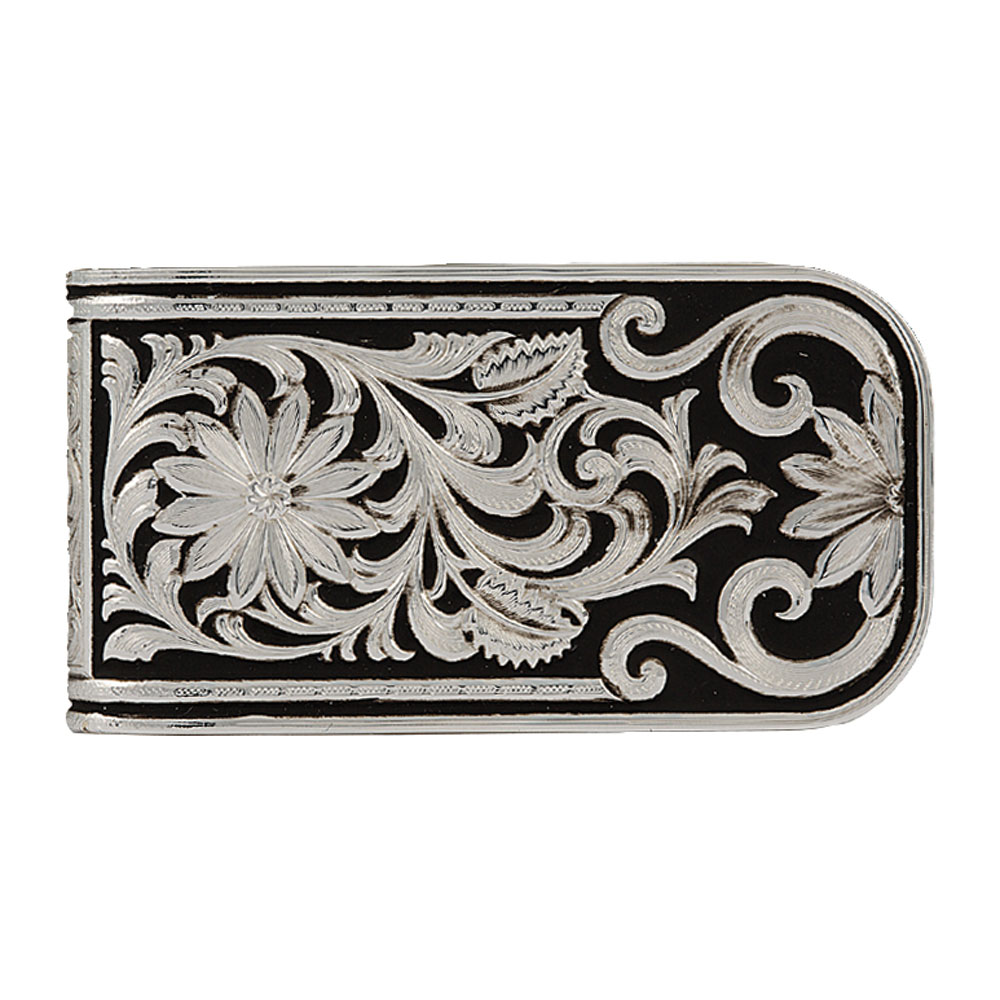 LeatherCut Bitterroot Money Clip