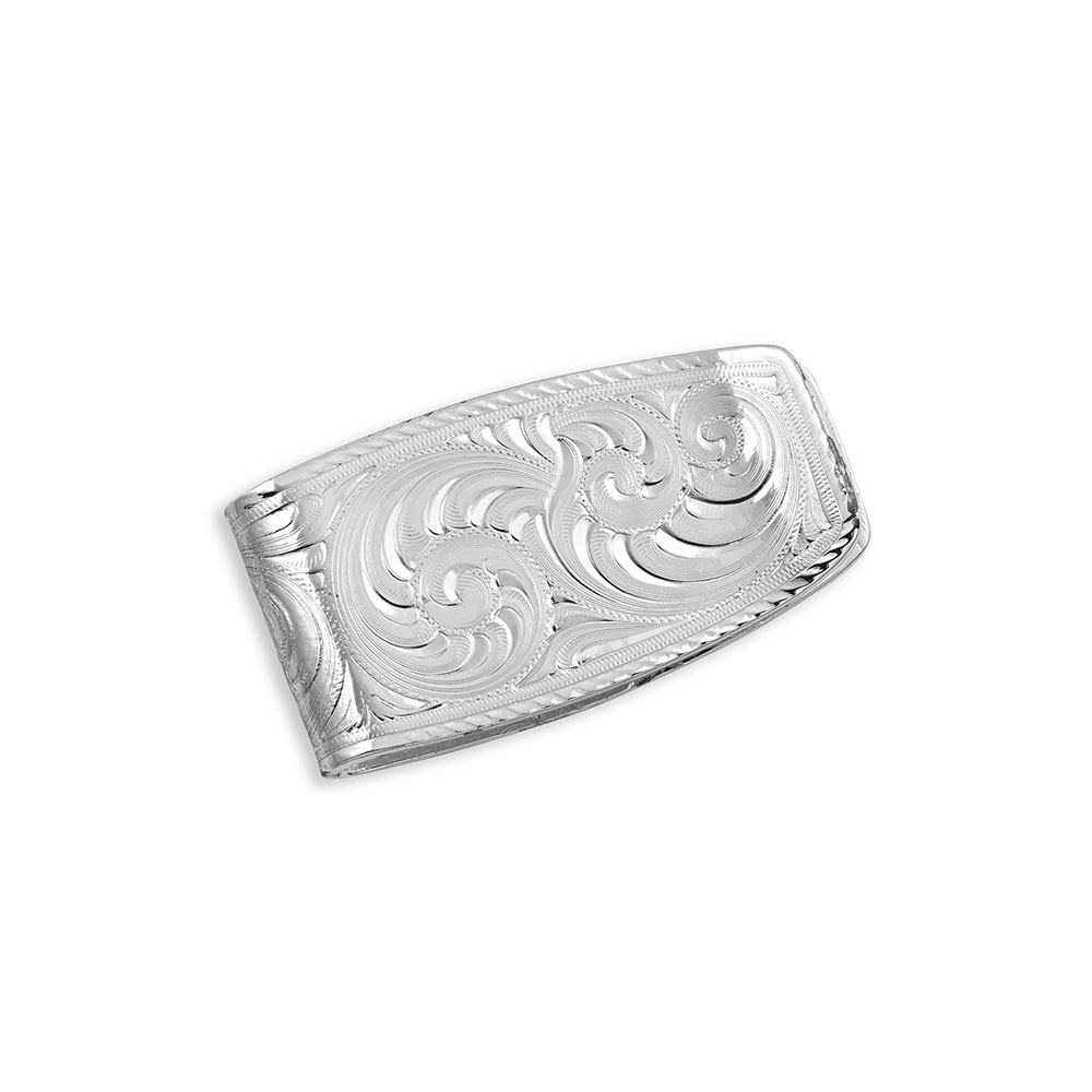 No Two The Same Agate Money Clip