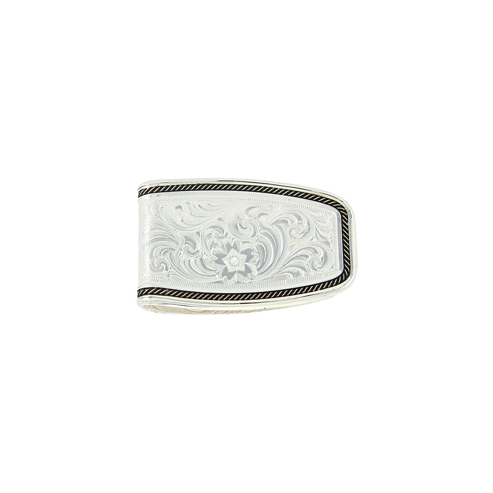 Custom Two-Tone Softly Roped Money Clip with Any Figure