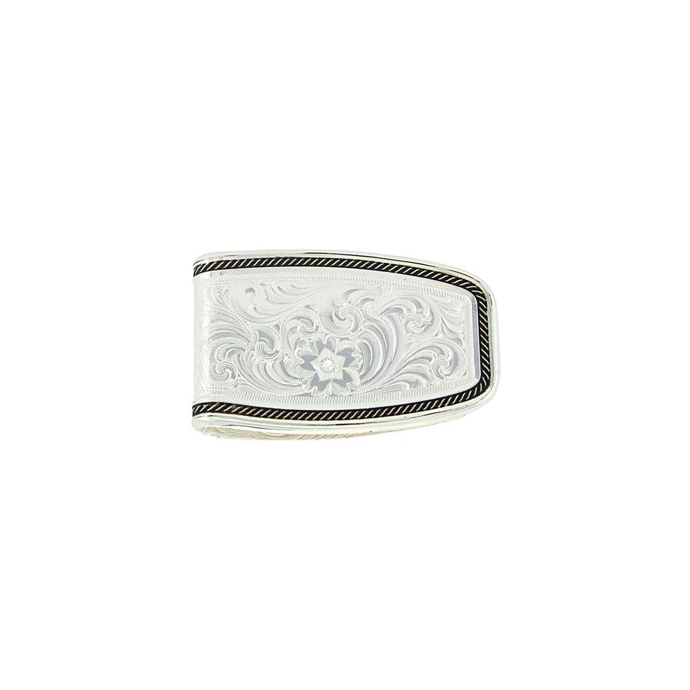 Custom Two-Tone Softly Roped Money Clip (1.44