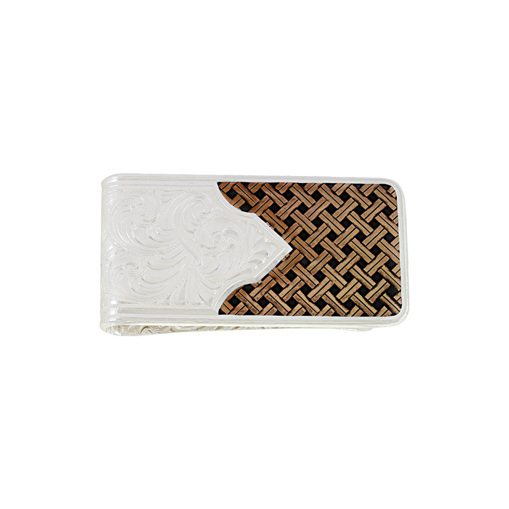 Custom Legacy Weave Money Clip with Any Figure