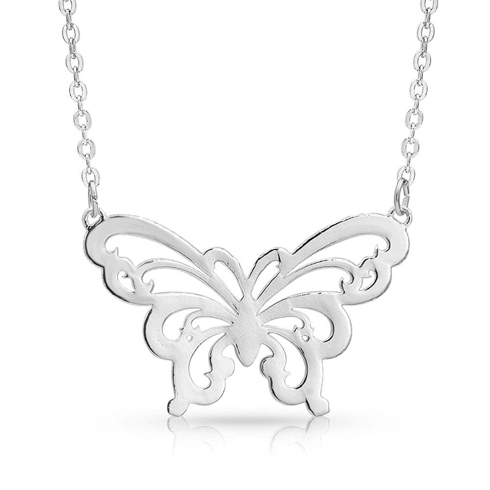 Float Like A Butterfly Necklace