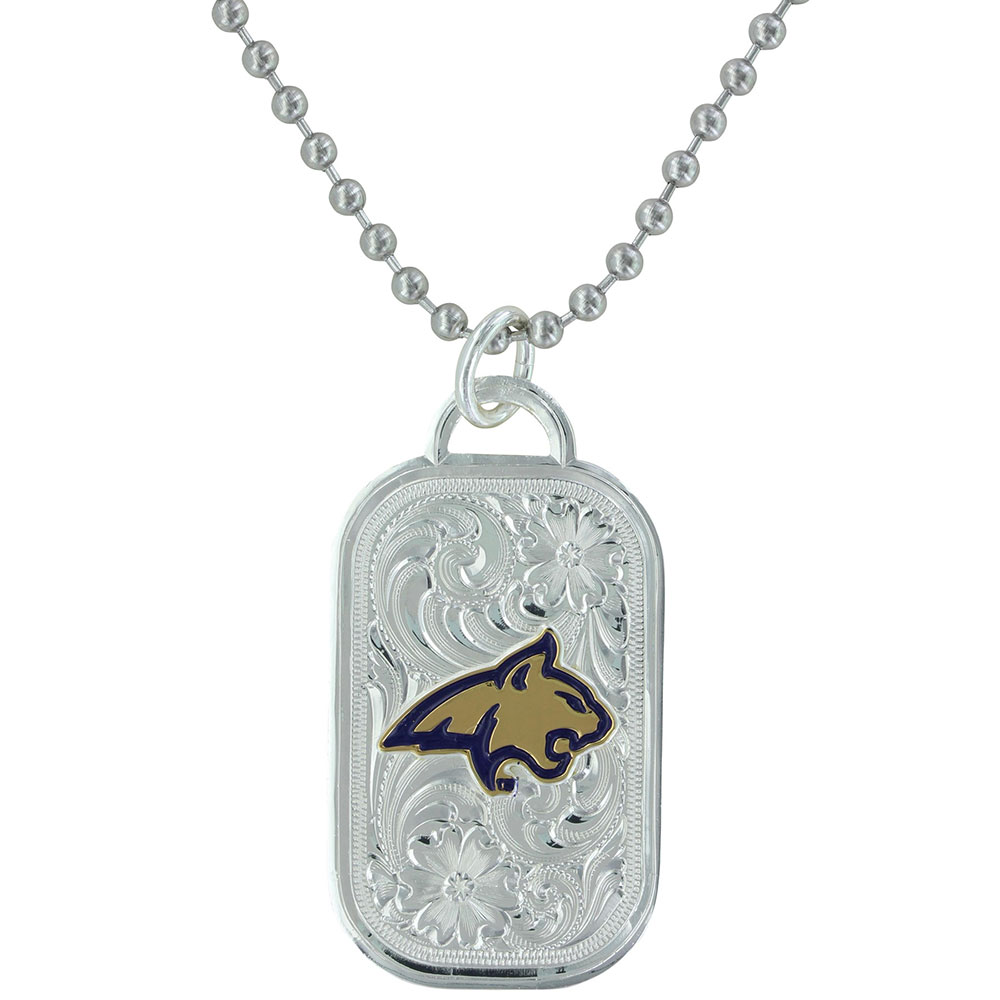 MSU Bobcat Classic Token Necklace
