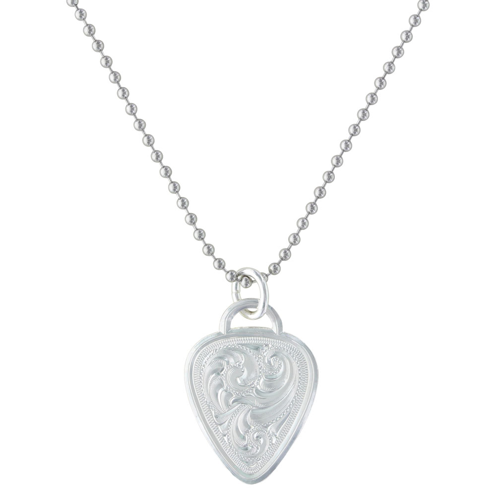 Western Guitar Pick Necklace