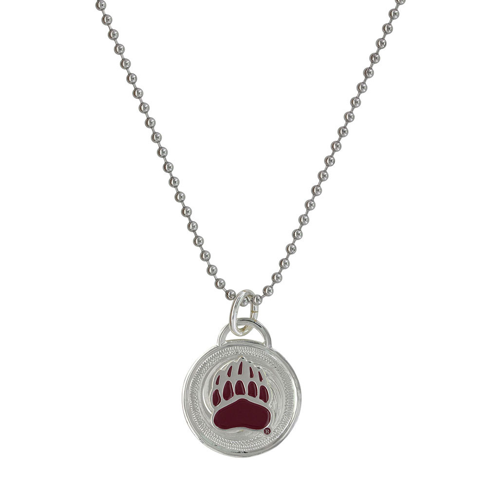 U of M Griz Western Medallion Necklace