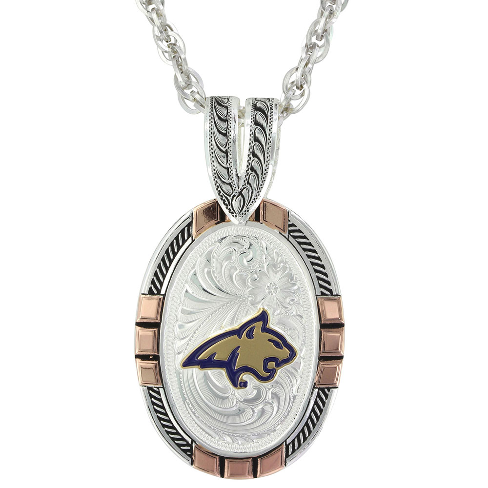 MSU Bobcat New Tradition Pendant Necklace