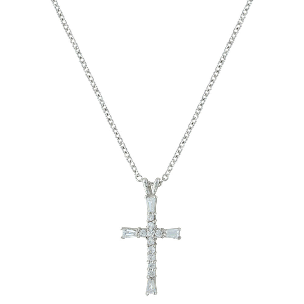 Radiant Faith Cross Necklace