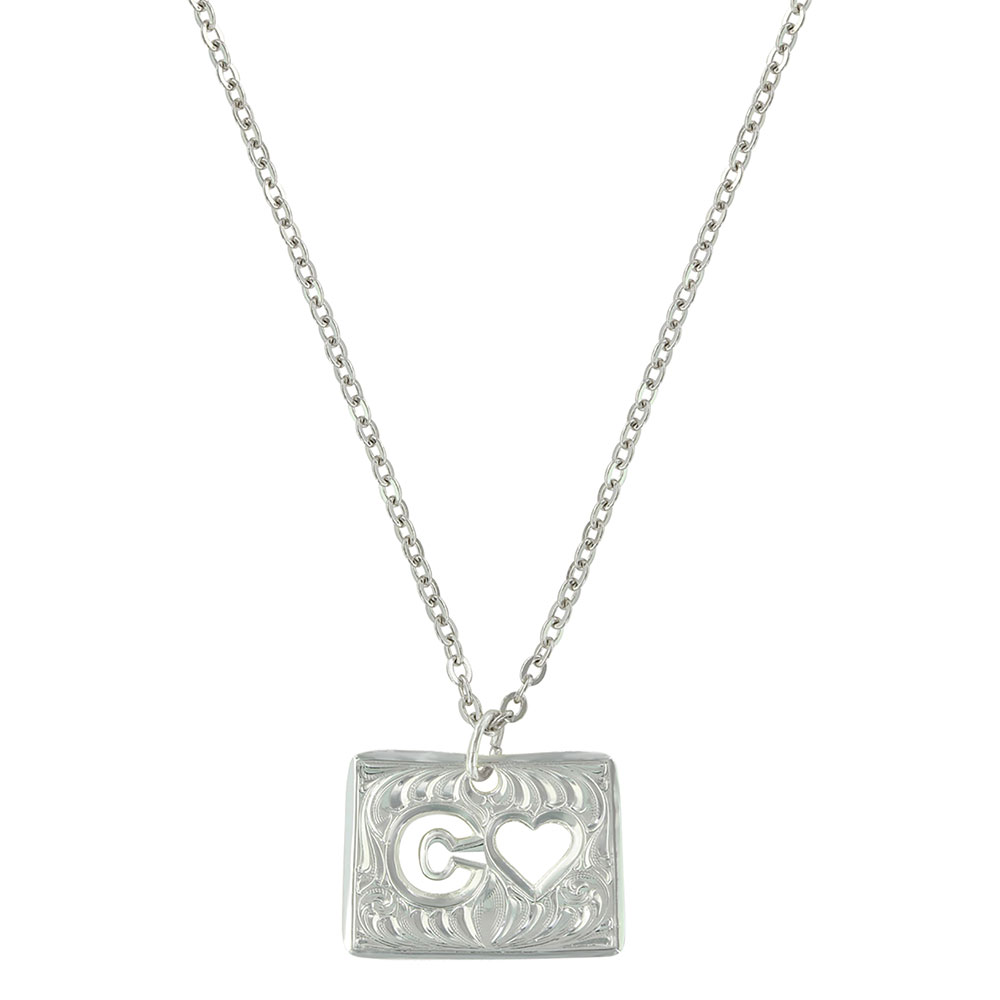 Colorado Is Where My Heart Is State Necklace