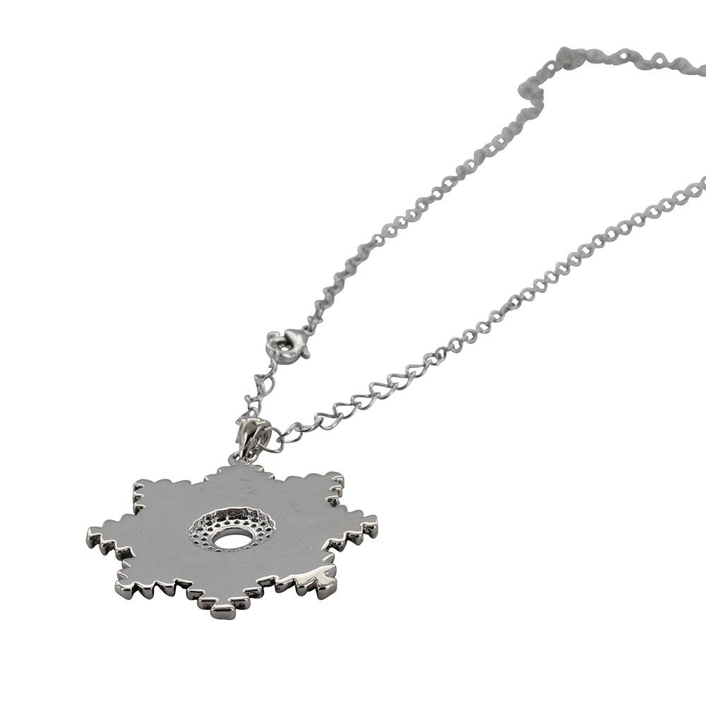 Horseshoe Nail Starburst Necklace