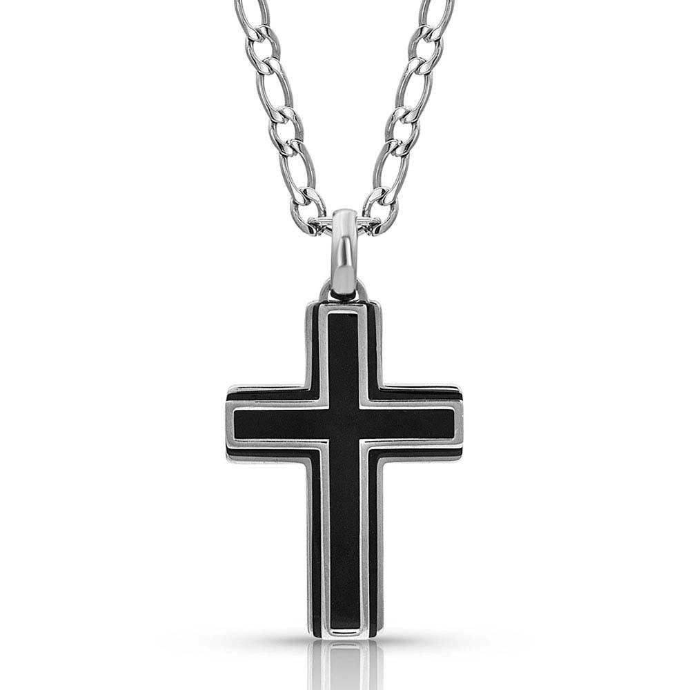 Boldly In Faith Cross Necklace