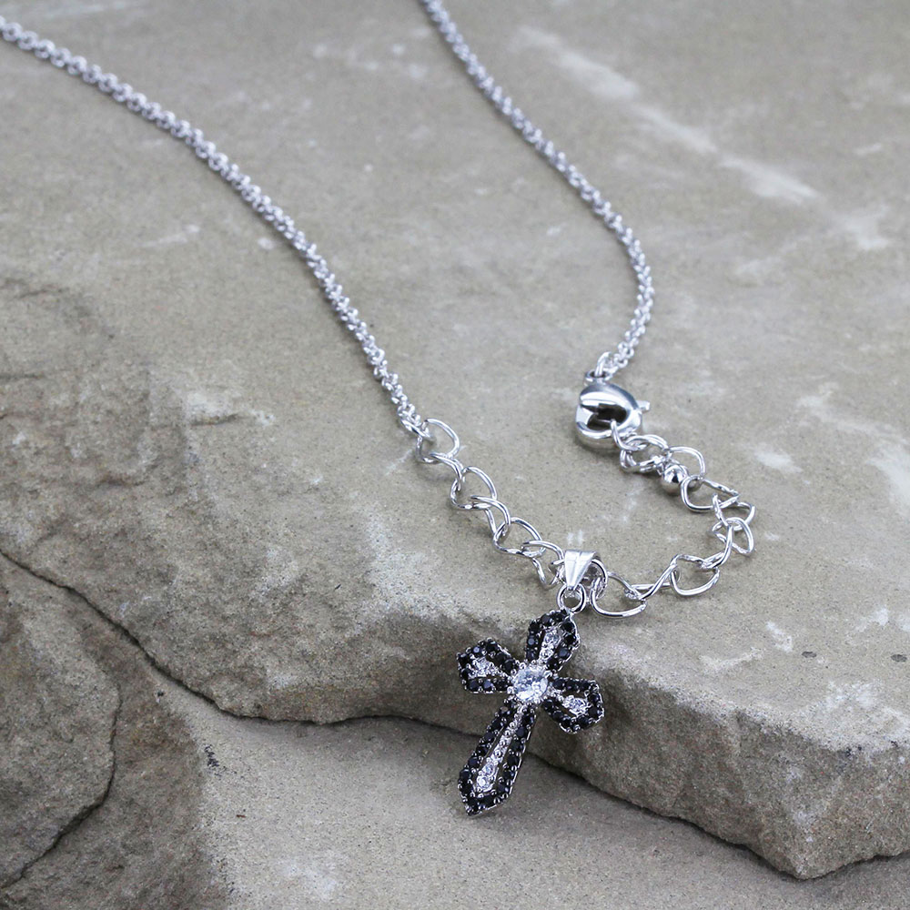 Faith Defined Cross Necklace