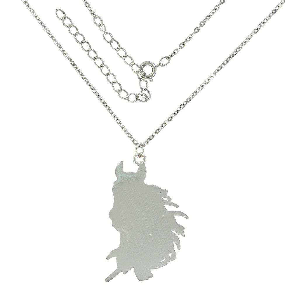 Majestic Beauty Horse Pendant Necklace