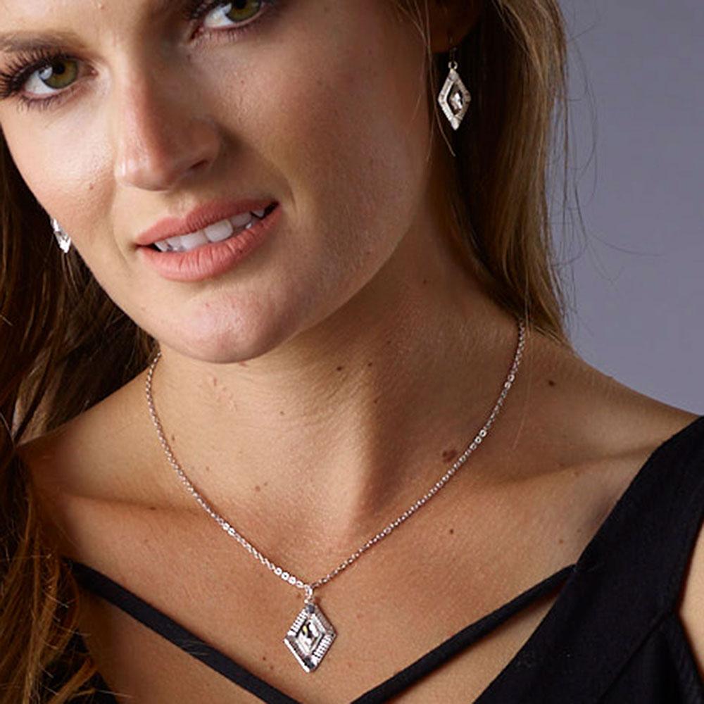 Winter Lights Diamond Necklace