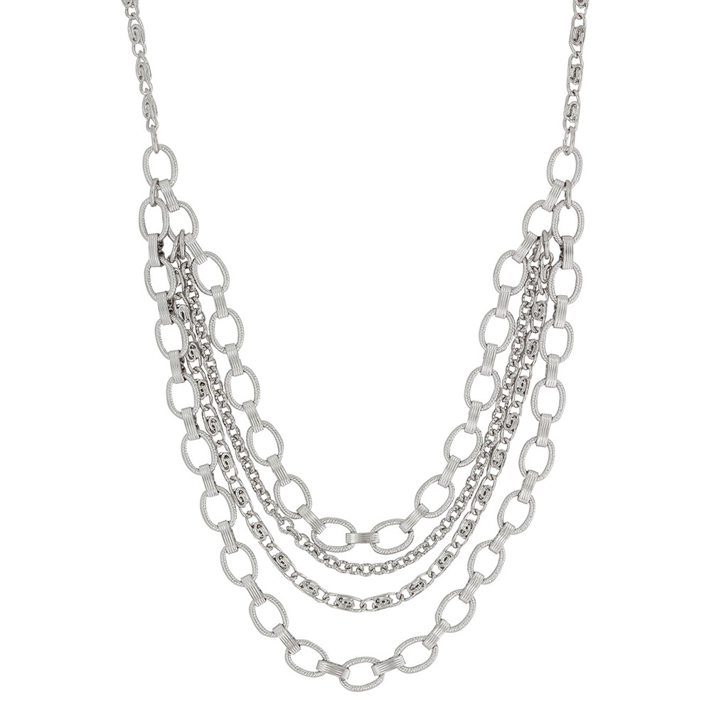 Linked Together Layer Necklace