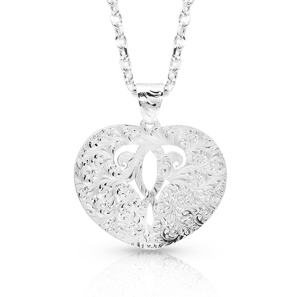 Inner Beauty Heart Necklace