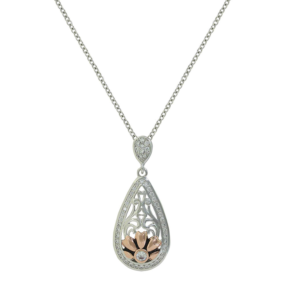 Gates of the Mountains Wildflower Necklace