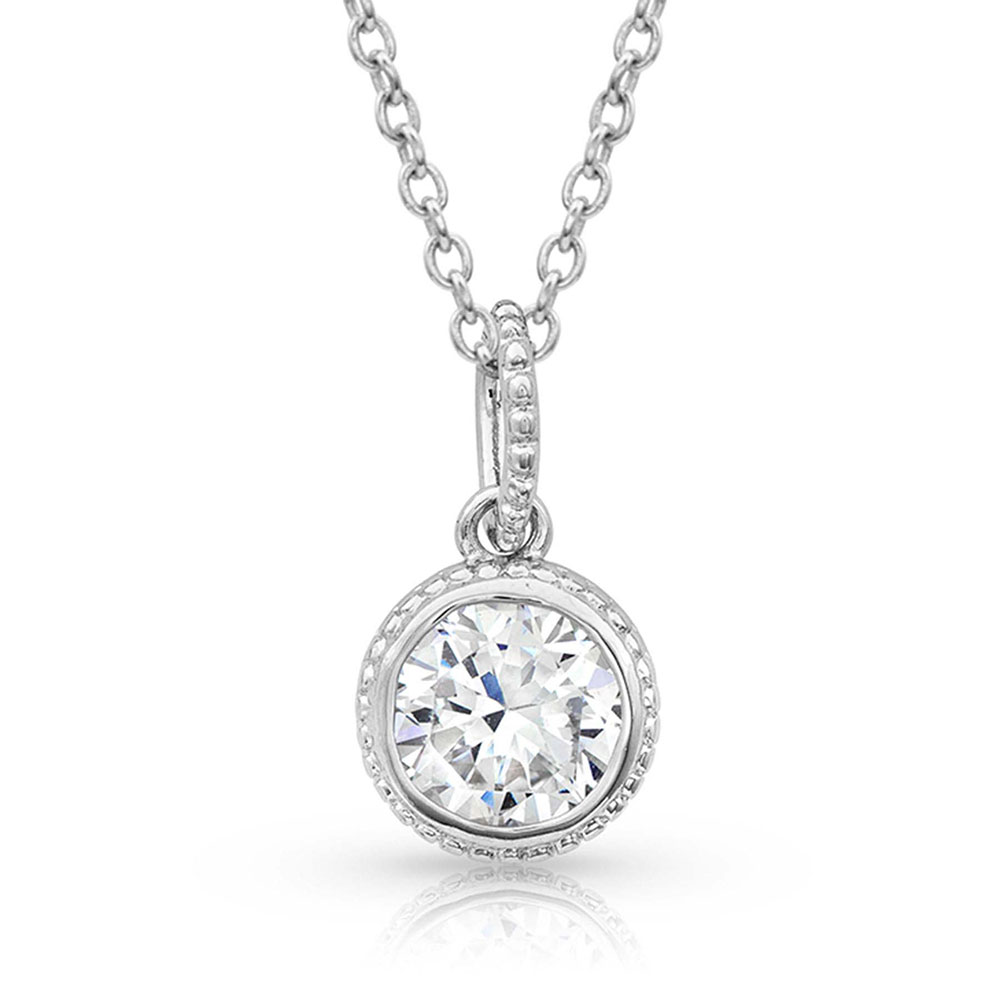 Forever Clear Necklace