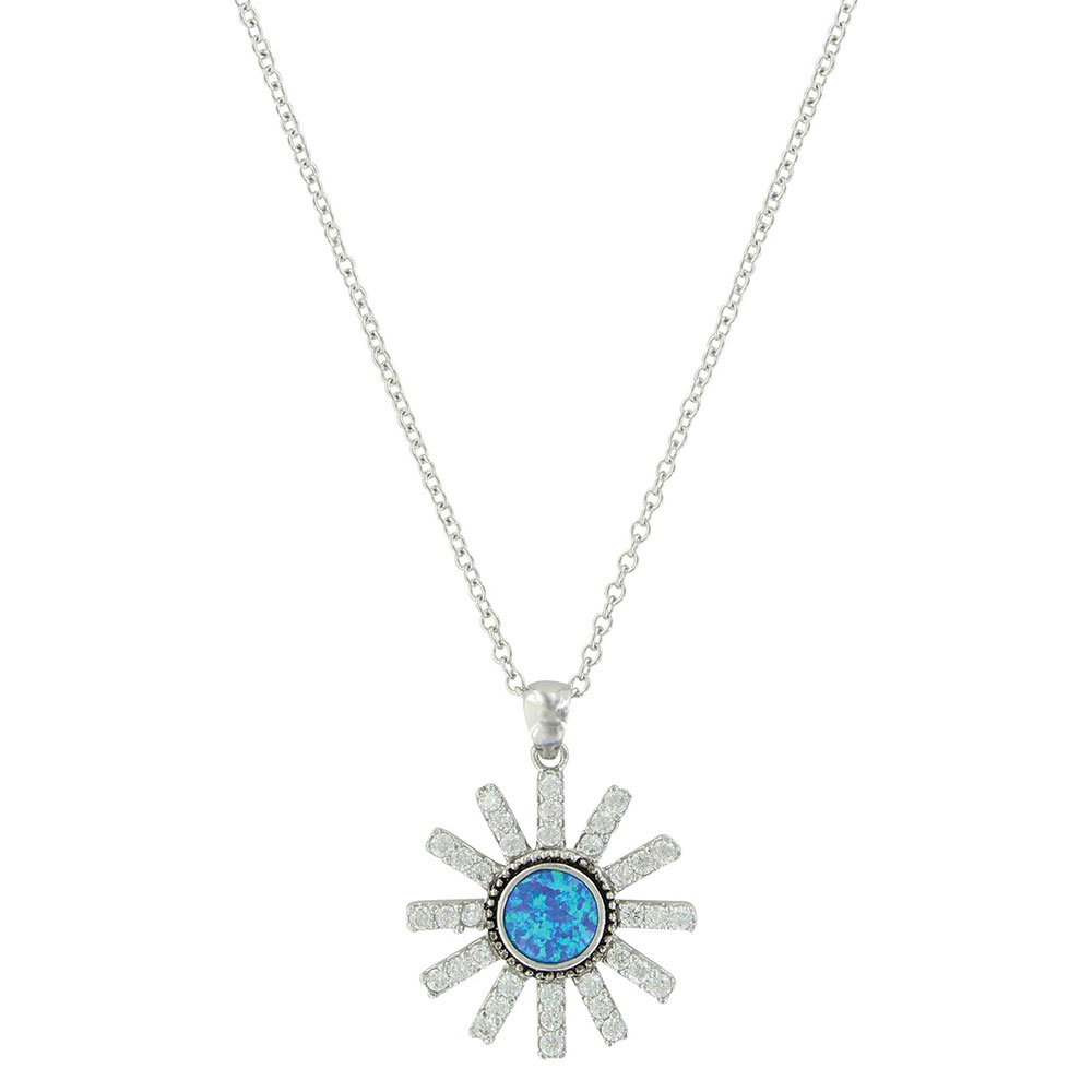River Lights Spurred Brilliance Opal Necklace