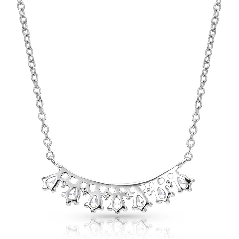 Dancing Charms Rope Bar Necklace