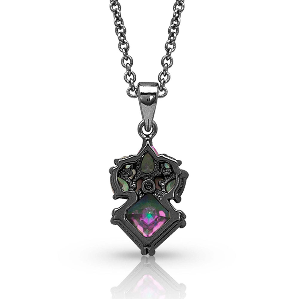 Northern Light Starburst Necklace