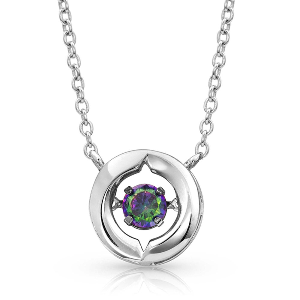 Ring Around A Northern Star Necklace