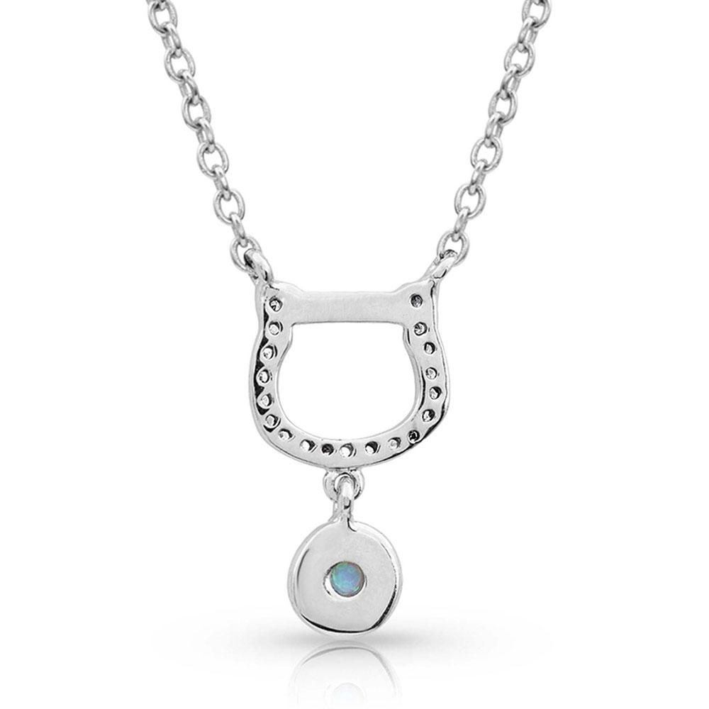 Horseshoe Opal Necklace
