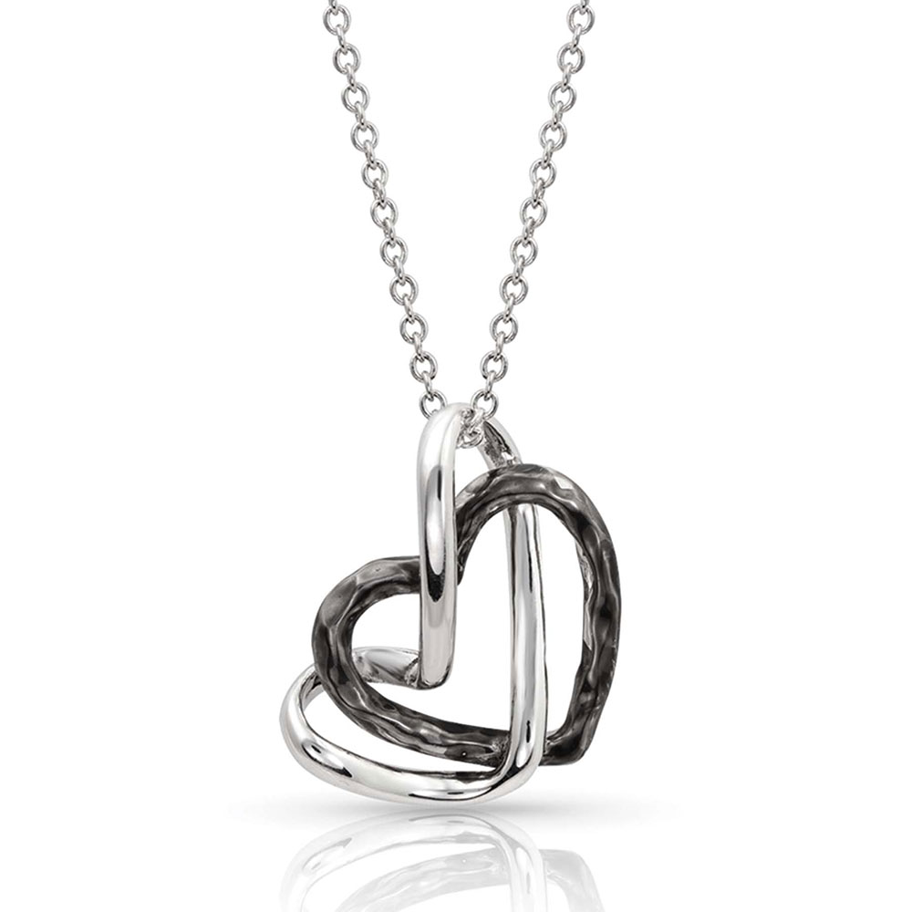 Love Entwined Heart Necklace