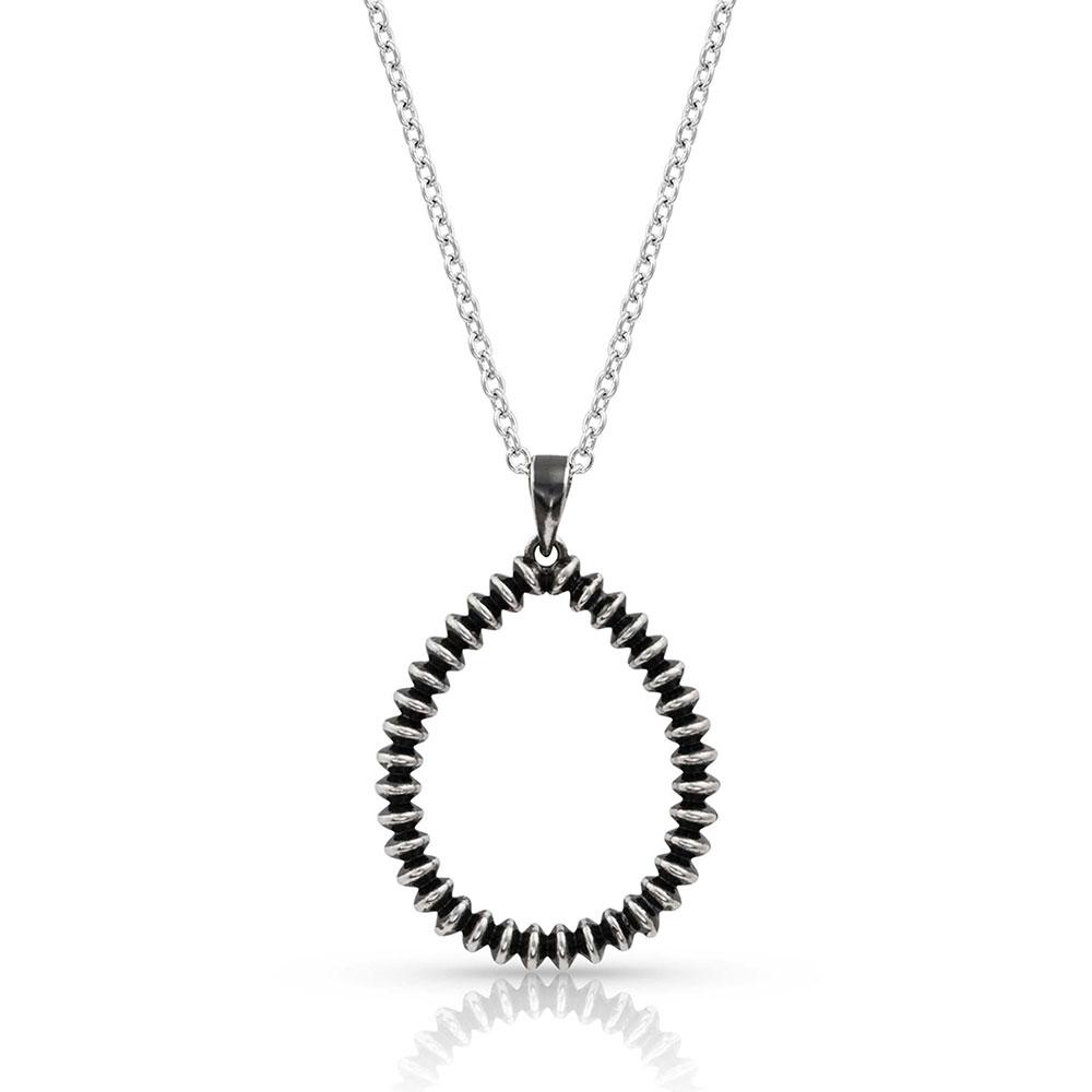 Beaded Legacy Teardrop Necklace