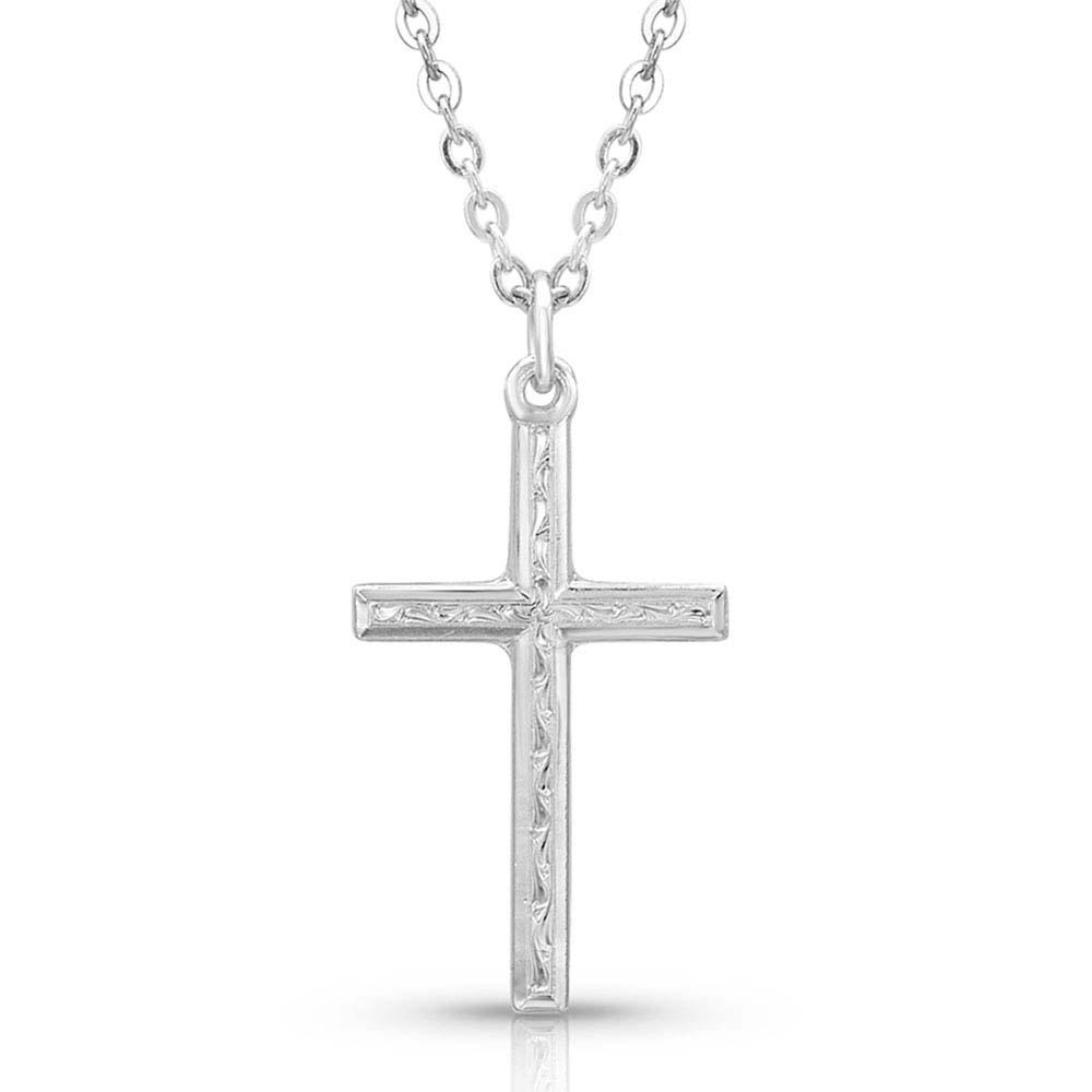 Gratitude Cross Necklace