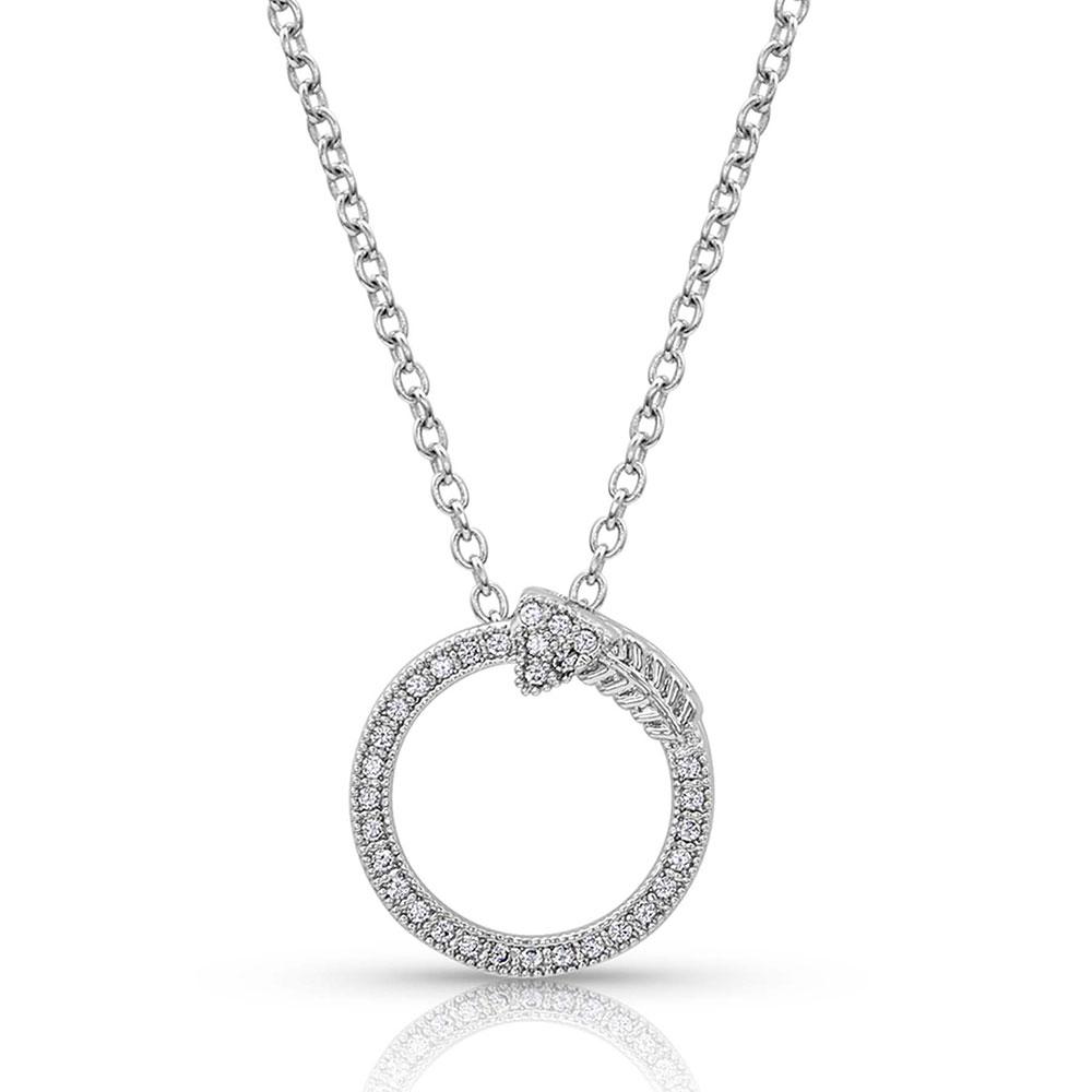 Eternity True Direction Arrow Necklace