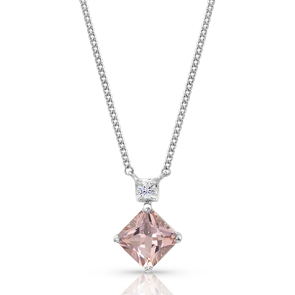 Pink Perfection Star Lights Necklace