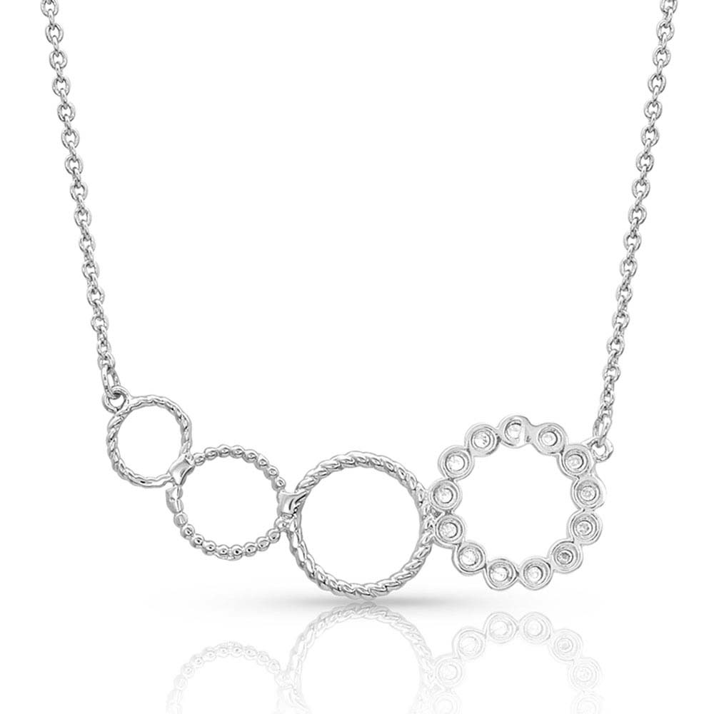 Quad Circle Necklace