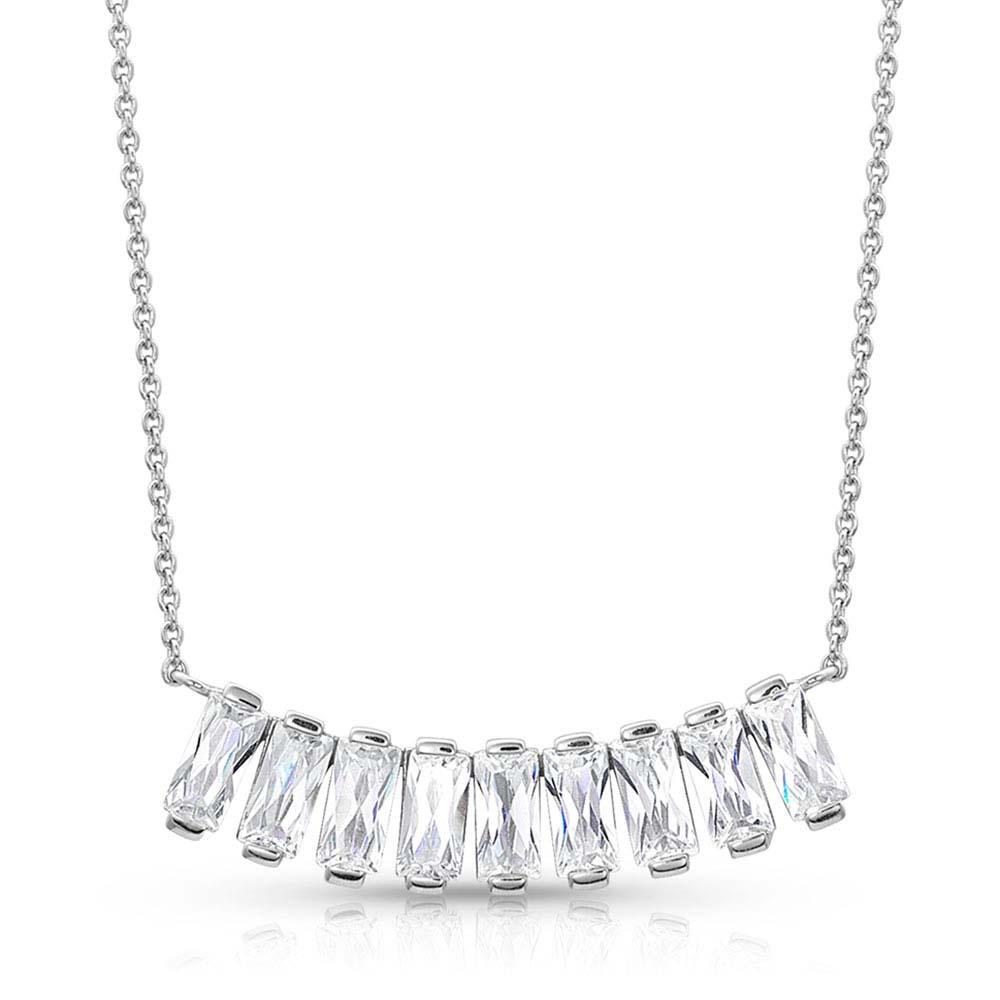 Bar Nine Bar Necklace