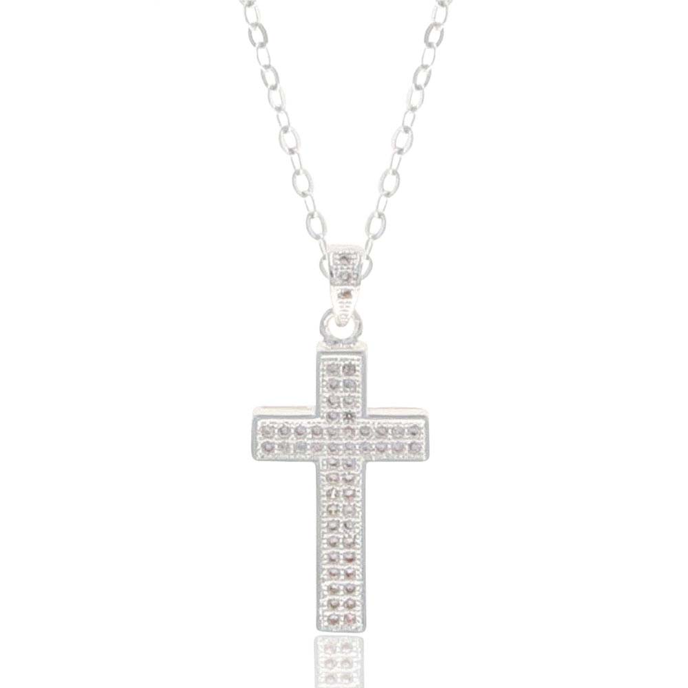 Unwavering Faith Cross Necklace